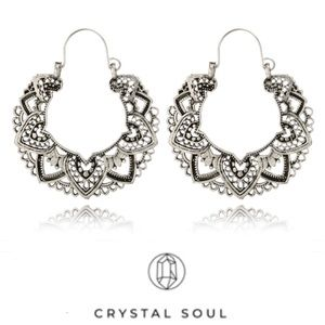 Just In🎉Boho Lotus Ethnic Vintage Drop Earrings